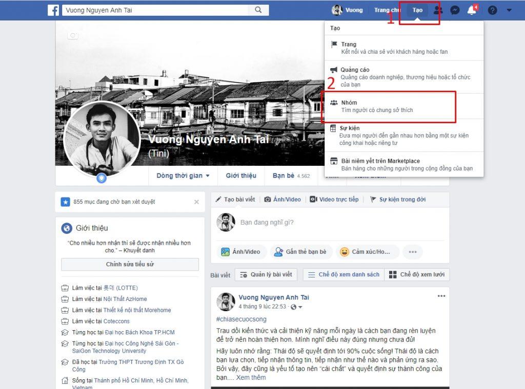 Bí Mật Tạo Group Facebook Bán Hàng Chất Lượng 2020