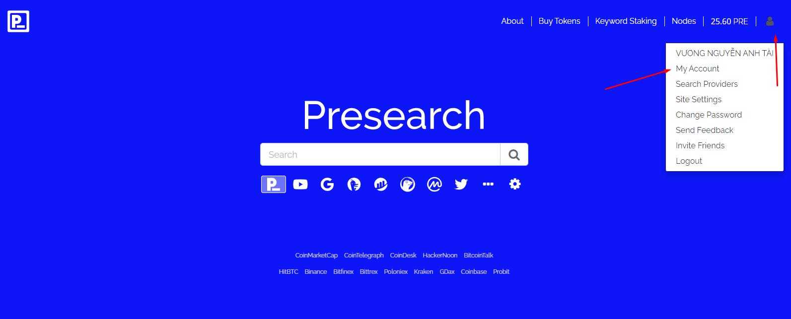Presearch Là Gì? Cách Kiếm 2282$ Mỗi Tháng Miễn Phí Với Presearch
